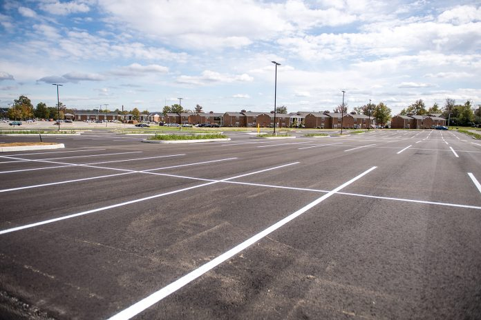 Photo of West Campus Parking Lot