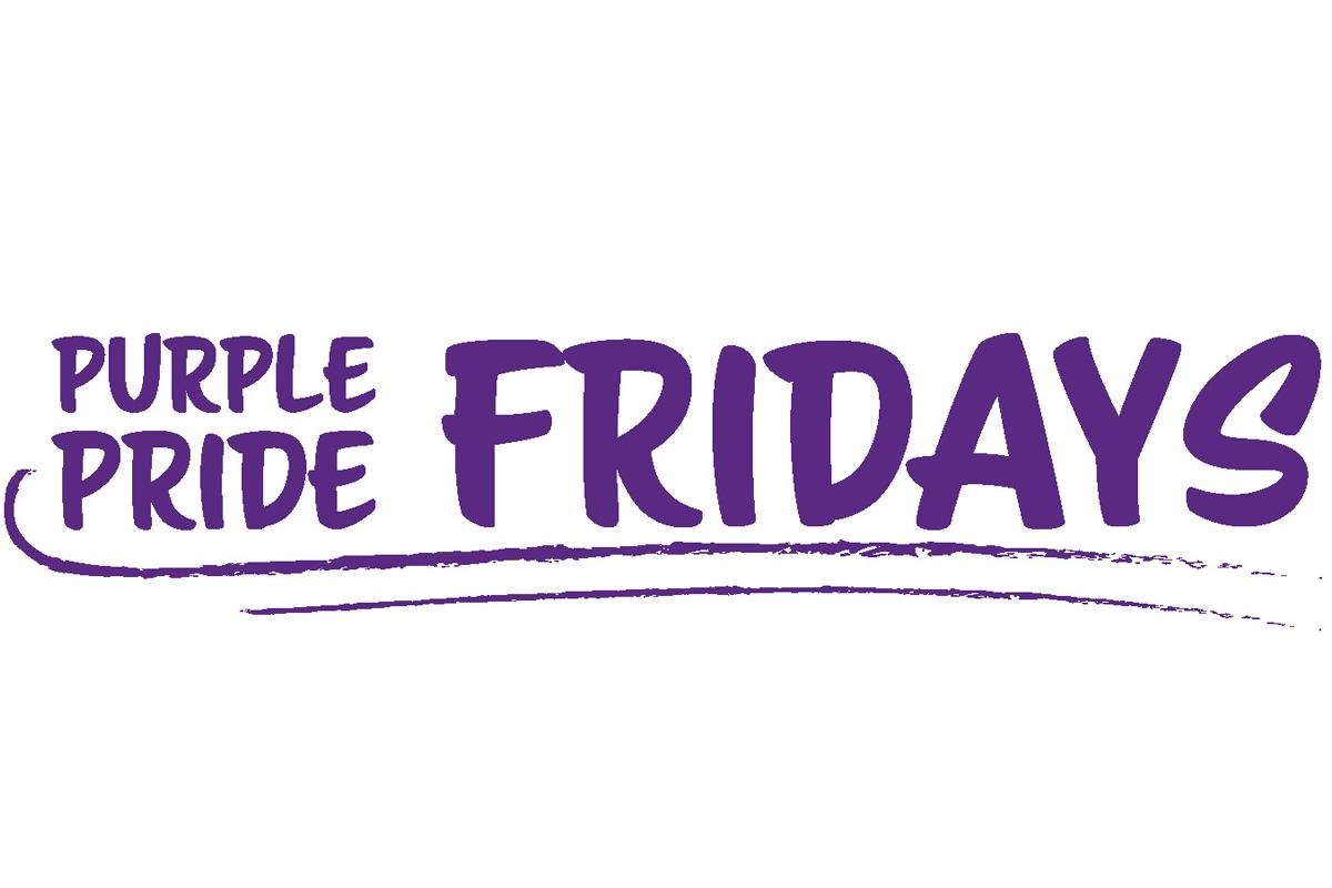 Purple Pride Fridays