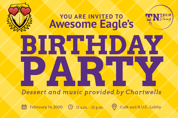 Awesome Eagle's Birthday Bash!