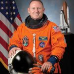 Astronaut Barry Wilmore in his NASA space suit